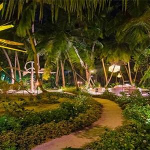 Amilla Fushi - Maldives Honeymoon packages - Mystic Garden