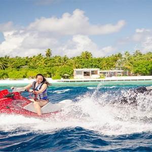 Amilla Fushi - Maldives Honeymoon packages - fun watersports