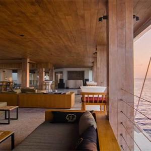 Amilla Fushi - Maldives Honeymoon packages - oak lounge1