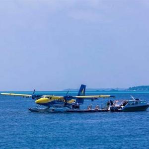 Amilla Fushi - Maldives Honeymoon packages - seaplane1