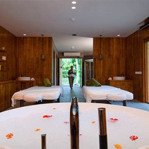 Amilla Fushi - Maldives Honeymoon packages - spa