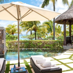 Beach Front Villa 4 - LUX Belle Mare - Luxury Mauritius Honeymoon Packages