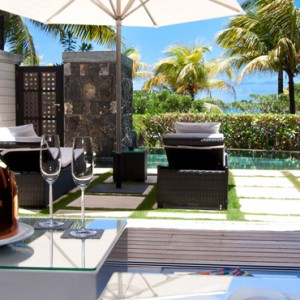 Beach Front Villa 6 - LUX Belle Mare - Luxury Mauritius Honeymoon Packages