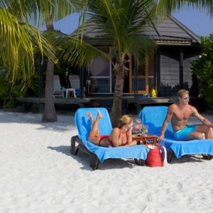 Komas Beach Villas - Kuredu Island Resort - Luxury Maldives Holidays