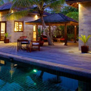 Sultan Pool Villa 2 - Kuredu Island Resort - Luxury Maldives Holidays