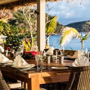 dining - Kokomo Island resort - Luxury Fiji honeymoons