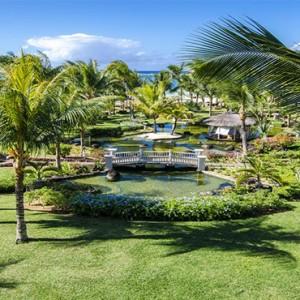 garden - LUX Belle Mare - Luxury Mauritius Honeymoon Packages