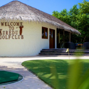 golf - Kuredu Island Resort - Luxury Maldives Holidays