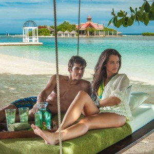 hammock 2 - Sandals Royal Caribbean - Luxury Jamaica Honeymoons