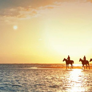 horse riding - LUX Belle Mare - Luxury Mauritius Holidays