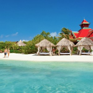 offshore island - Sandals Royal Caribbean - Luxury Jamaica Honeymoons