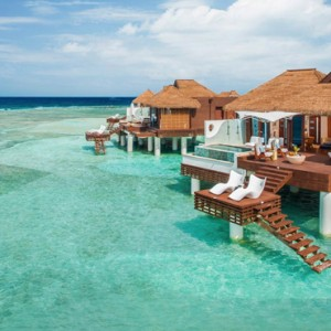 over watr bungalow - Sandals Royal Caribbean - Luxury Jamaica Honeymoons