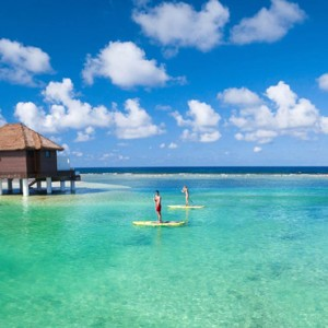 paddle boarding - Sandals Royal Caribbean - Luxury Jamaica Honeymoons