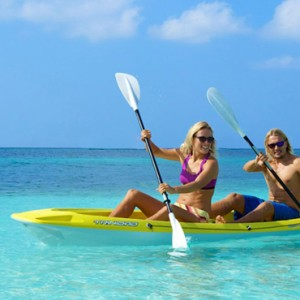 paddling - Kuredu Island Resort - Luxury Maldives Holidays