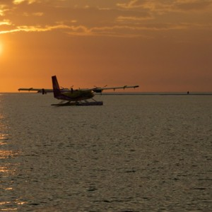 seaplane - Kuredu Island Resort - Luxury Maldives Holidays