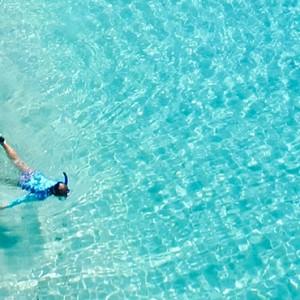 snorkeling - Kokomo Island resort - Luxury Fiji honeymoons