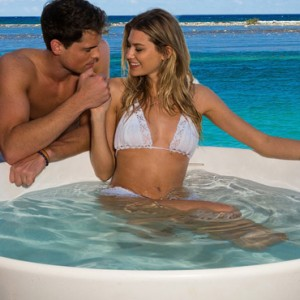 soaking tub - Sandals Royal Caribbean - Luxury Jamaica Honeymoons