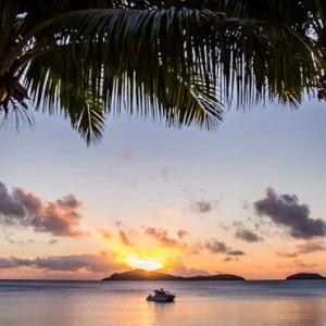 sunset cruise - Kokomo Island resort - Luxury Fiji honeymoons