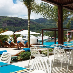 Eden Bleu Hotel - Luxury Seychelles Honeymoon packages - Emperur terrace