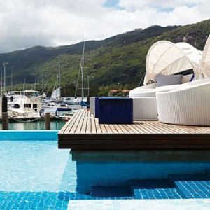 Eden Bleu Hotel - Luxury Seychelles Honeymoon packages - Pool
