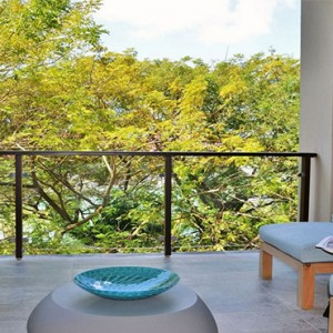 Eden Bleu Hotel - Luxury Seychelles Honeymoon packages - luxury garden1