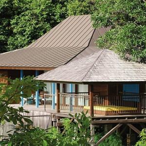 Four Seasons Resort Seychelles - Luxury Seychelles Honeymoon packages - Garden view villa exterior