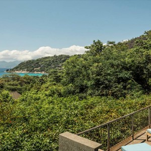 Four Seasons Resort Seychelles - Luxury Seychelles Honeymoon packages - Ocean view villa exterior