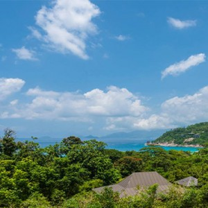 Four Seasons Resort Seychelles - Luxury Seychelles Honeymoon packages - Ocean view villa view