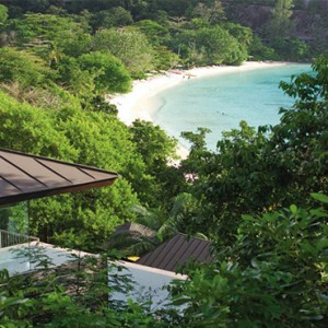 Four Seasons Resort Seychelles - Luxury Seychelles Honeymoon packages - Ocean view villa view1