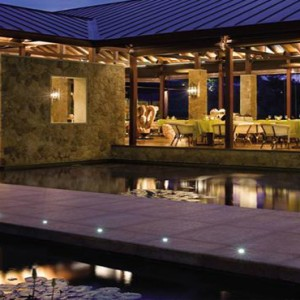 Four Seasons Resort Seychelles - Luxury Seychelles Honeymoon packages - Restaurant exterior