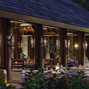 Four Seasons Resort Seychelles - Luxury Seychelles Honeymoon packages - Restaurant exterior1