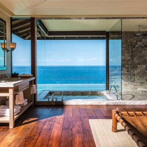 Four Seasons Resort Seychelles - Luxury Seychelles Honeymoon packages - Serenity villa bathroom1