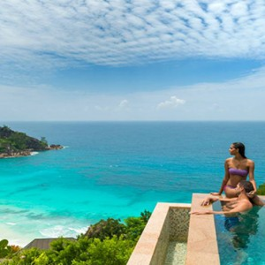 Four Seasons Resort Seychelles - Luxury Seychelles Honeymoon packages - Serenity villa pool