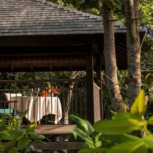 Four Seasons Resort Seychelles - Luxury Seychelles Honeymoon packages - Serenity villa terrace
