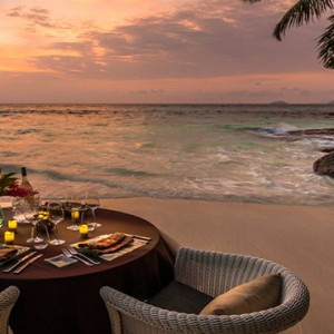 Four Seasons Resort Seychelles - Luxury Seychelles Honeymoon packages - Sunset view1
