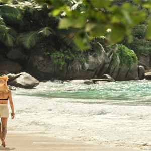 Four Seasons Resort Seychelles - Luxury Seychelles Honeymoon packages - beach