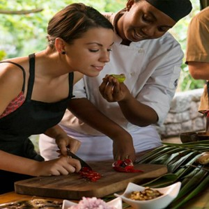 Four Seasons Resort Seychelles - Luxury Seychelles Honeymoon packages - cooking class