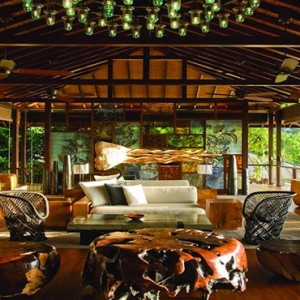 Four Seasons Resort Seychelles - Luxury Seychelles Honeymoon packages - lobby