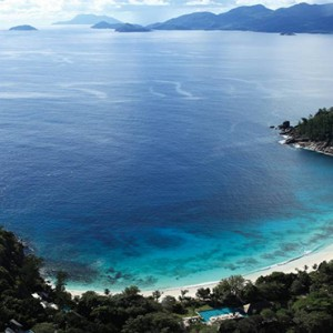 Four Seasons Resort Seychelles - Luxury Seychelles Honeymoon packages - ocean view