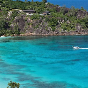 Four Seasons Resort Seychelles - Luxury Seychelles Honeymoon packages - sea