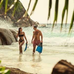 Four Seasons Resort Seychelles - Luxury Seychelles Honeymoon packages - snorkeling1