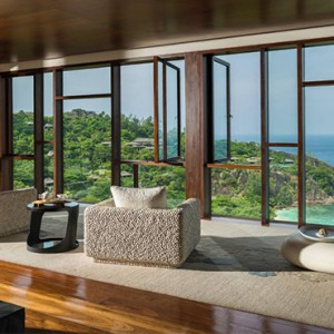 Four Seasons Resort Seychelles - Luxury Seychelles Honeymoon packages - spa lobby