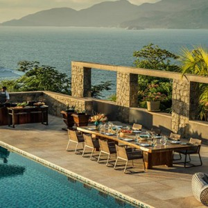 Four Seasons Resort Seychelles - Luxury Seychelles Honeymoon packages - special occasion dining