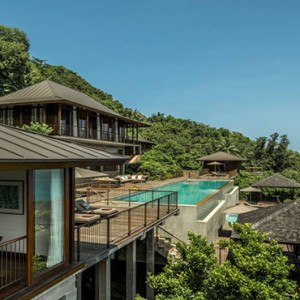 Four Seasons Resort Seychelles - Luxury Seychelles Honeymoon packages - villa exterior overview