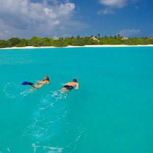 Hideaway Beach Resort and Spa - Luxury Maldives honeymoon packages - snorkeling