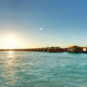 Hideaway Beach Resort and Spa - Luxury Maldives honeymoon packages - water villa1