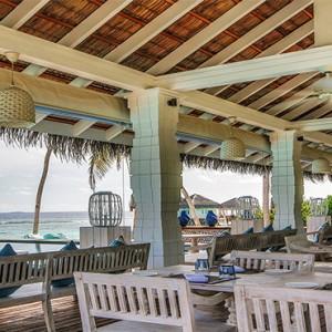 Loama Resort Maldives at Maamigili - Luxury Maldives Honeymoon packages - Iru Cafe at day