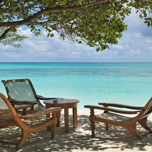 Loama Resort Maldives at Maamigili - Luxury Maldives Honeymoon packages - pool beach area