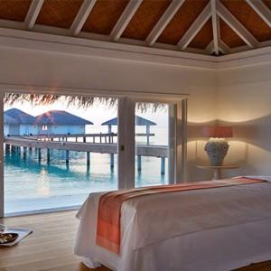 Loama Resort Maldives at Maamigili - Luxury Maldives Honeymoon packages - spa villa interior