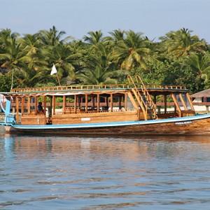 Nika Island Resort and Spa - Luxury Maldives Honeymoon Packages - boat